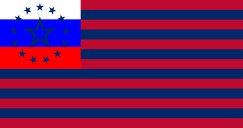 Amero-Soviet Federation flag