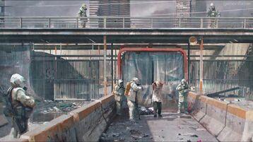 Boston Quarantine zone