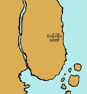 Razorfen Berth Map