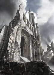 Castle ruins by jenovah art-d30qsqs
