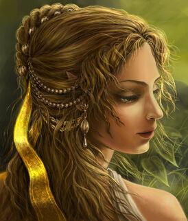 Elven Maiden by edarlein