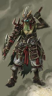 Armor Japan style by ilison