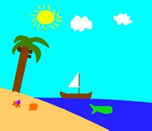 Beach Island by LLR