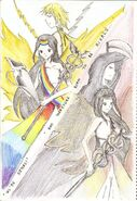 Iris vs arke sisters yet rivals fanart1