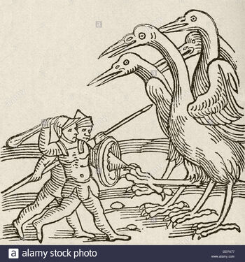 Fight-between-pygmies-and-cranes-a-story-from-greek-mythology-from-DD7A77