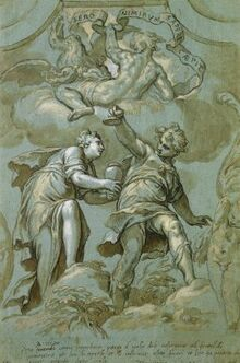 Pandora's gift to Epimetheus