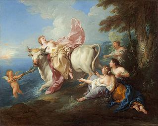 The Abduction of Europa, Jean-François de Troy