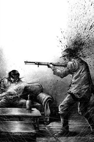 File:Hawk shooting a man.jpg