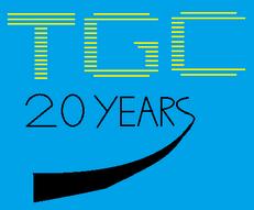 TGC 20 years logo