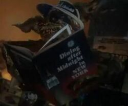 Book reading gremlin