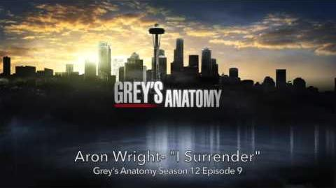"""I Surrender"" - Aron Wright"
