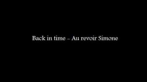 """""""Back in Time"""" - Au Revoir Simone"""