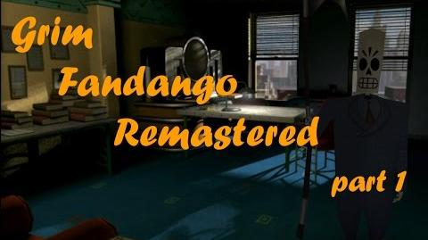 Grim Fandango Remastered - Прохождение Walkthrough part 1