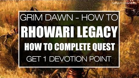 Rhowari Legacy quest and Mogdrogen's Shrine How to