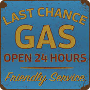 612-Gas Station Logo Design