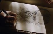 118-Nick's drawing of Tim Steinkellner woged as Klaustreich