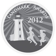 208-Landmark Award Logo Key Art