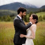 David and BItsie wedding picture