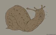 Legend of grimrock snail sketch