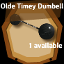 Olde Timey Dumbell