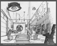 Concept Art of the Garage3