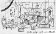 Concept Art of the Garage 1