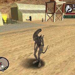 Alien in <a href=