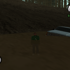 Effects of the Ghost Lake on a Rancher.