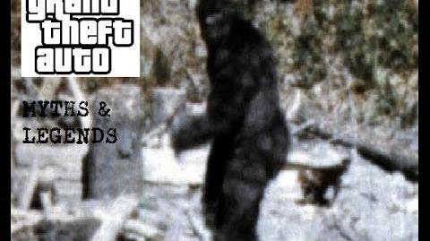 GTA IV Myths & Legends Bigfoot Of Bohan-0
