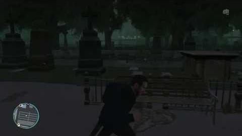 GTA IV - Kate's Ghost In The Graveyard