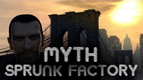 GTA IV Myths & Legends - Sprunk Factory Ghost HD