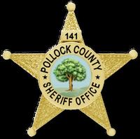 Pollock County Sheriff Badge