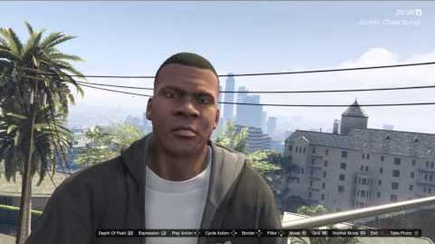 Snapmatic Selfies GTAVe Franklin new expressions