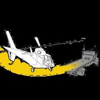 GTAO Flight School Flatbed landing