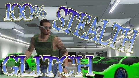 GTA 5 Online Stealth Glitch