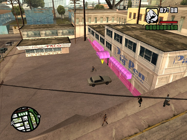 Get the money and remain in a strip club for GTA San Andreas