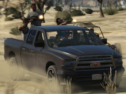 Bravado Pickup Truck-GTAOnline