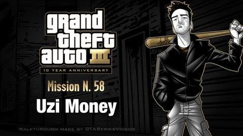 GTA 3 - iPad Walkthrough - Mission 58 - Uzi Money