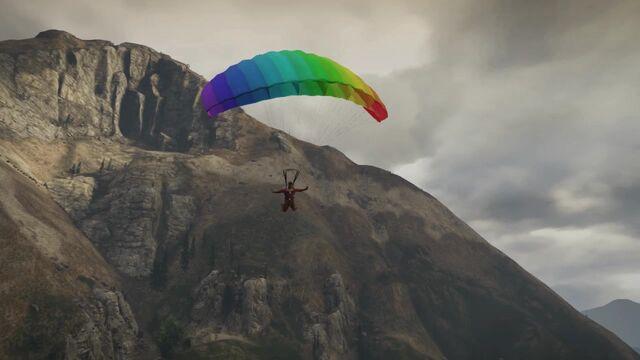 File:Franklin Parachuting Gameplay.GTAV.jpg