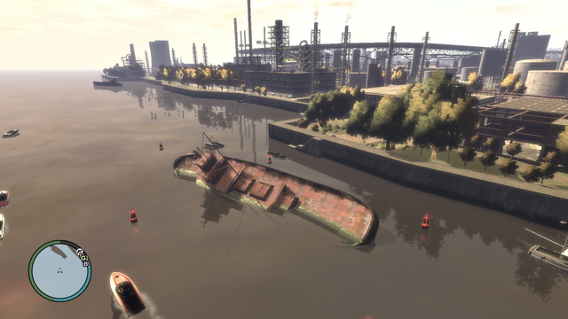 File:Wreck Tug3 GTAIV Wreckage from air.png