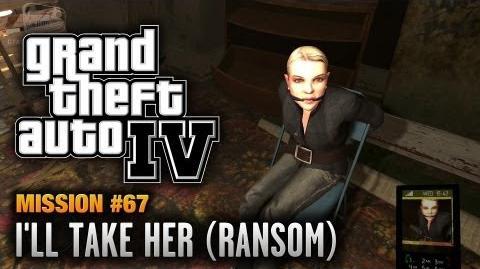 GTA 4 - Mission 67 - I'll Take Her Ransom (1080p)