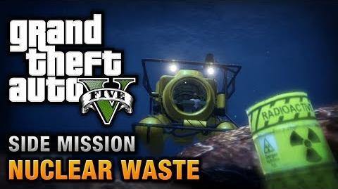 GTA 5 - Nuclear Waste Waste Management Achievement Trophy