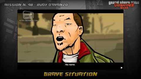 GTA Chinatown Wars - Walkthrough - Mission 48 - Grave Situation