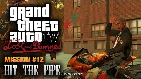 GTA The Lost and Damned - Mission 12 - Hit the Pipe (1080p)