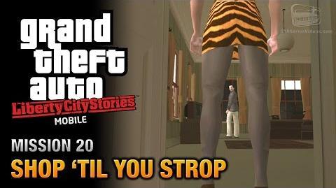 GTA Liberty City Stories Mobile - Mission 20 - Shop 'til you Strop