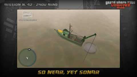 GTA Chinatown Wars - Walkthrough - Mission 42 - So Near, Yet Sonar