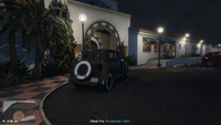 Vehicle Import Parked GTAO Pacific Bluffs Country Club