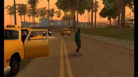 Grand Theft Auto San Andreas Quotes - Black Taxi Driver