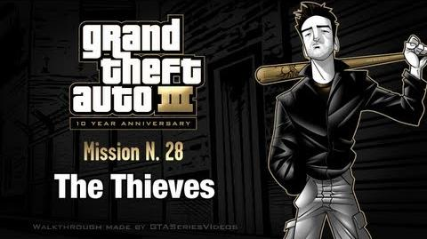 GTA 3 - iPad Walkthrough - Mission 28 - The Thieves