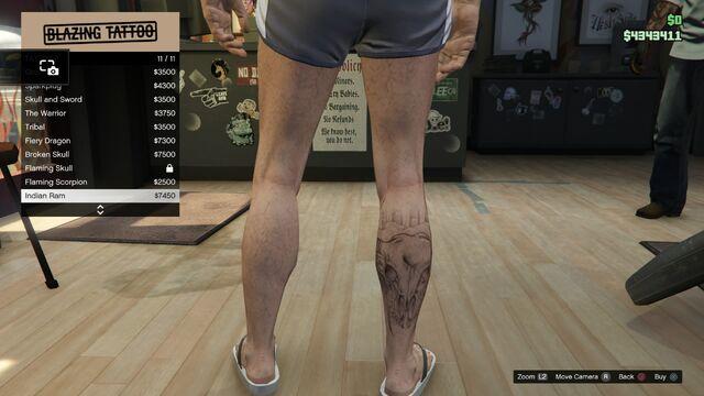 File:Tattoo GTAV Online Male Right Leg Indian Ram.jpg